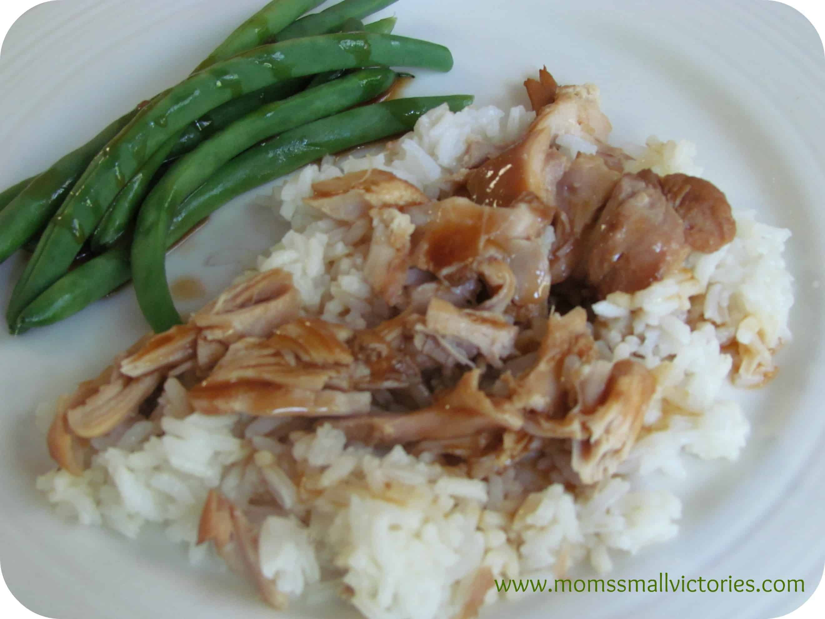 Recipe Review: Slow Cooker Teriyaki Chicken