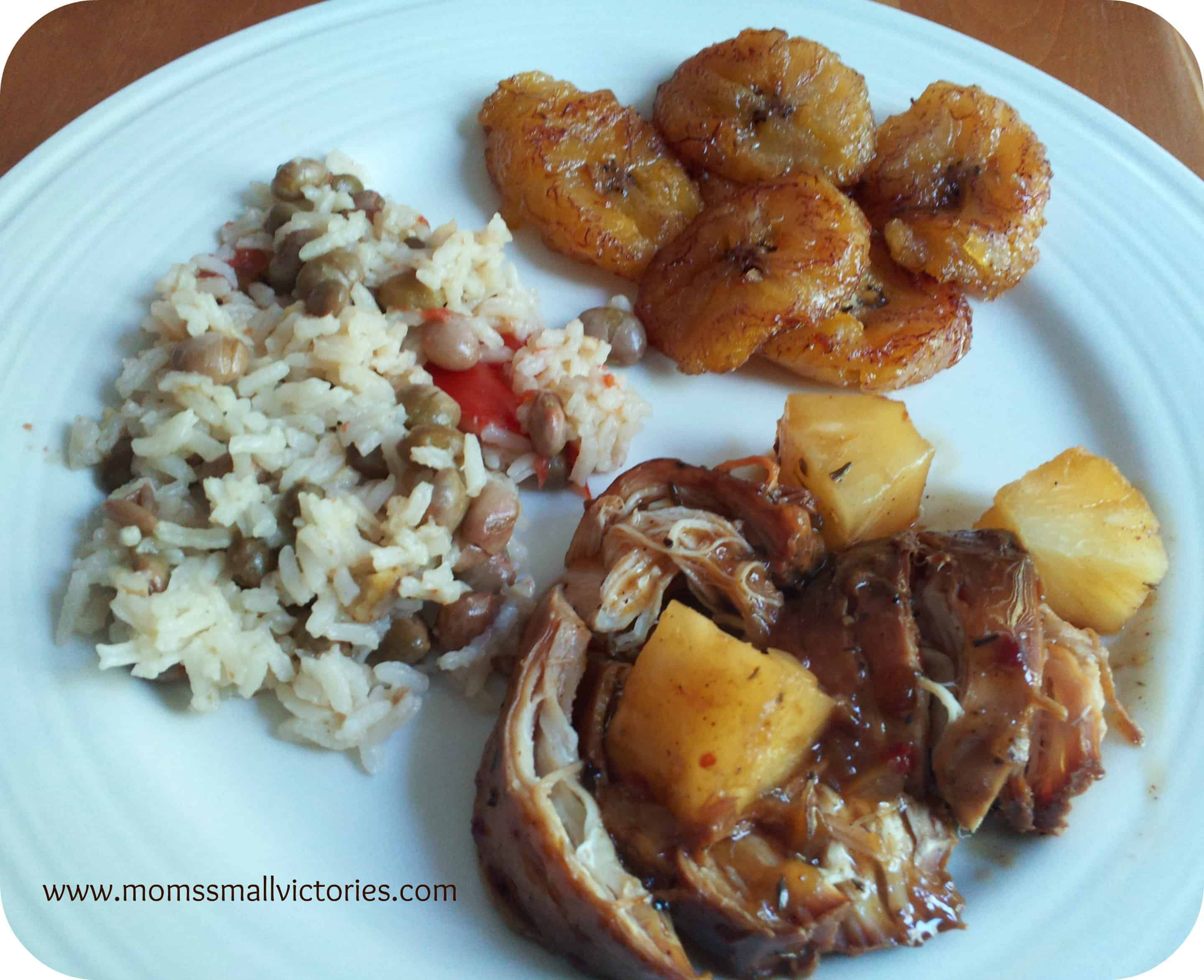Recipe Review: Caribbean Jerk Chicken and Sweet Plantains (Platanos Maduros)