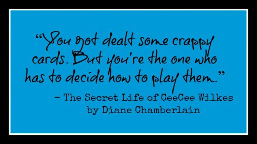The Secret Life of CeeCee Wilkes by Diane Chamberlain. A captivating, suspenseful story about a mistake and how far one woman goes to protect her daughter.