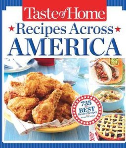 Taste of Home Recipes Across America Cookbook