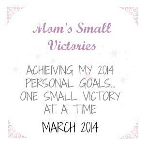 March 2014 Personal Goals #2014Goals