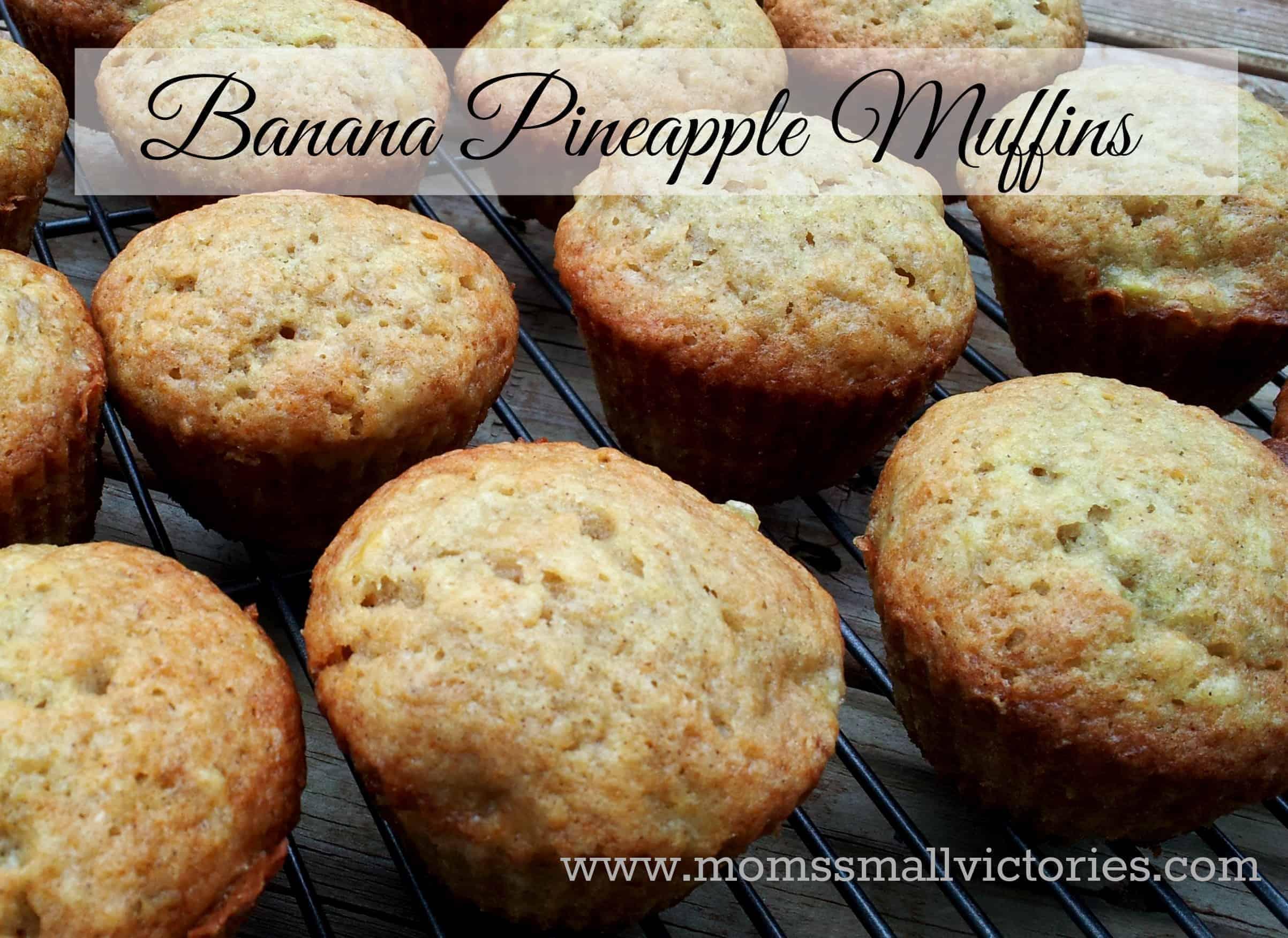 The Best Banana Pineapple Muffins