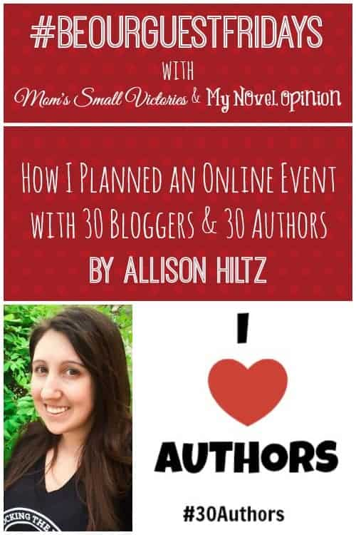 Be Our Guest Fridays {4}: The Book Wheel Shares Tips on Running a Successful Blog Event