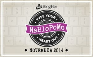 Lessons Learned from Taking on #NaBloPoMo Nov 2014