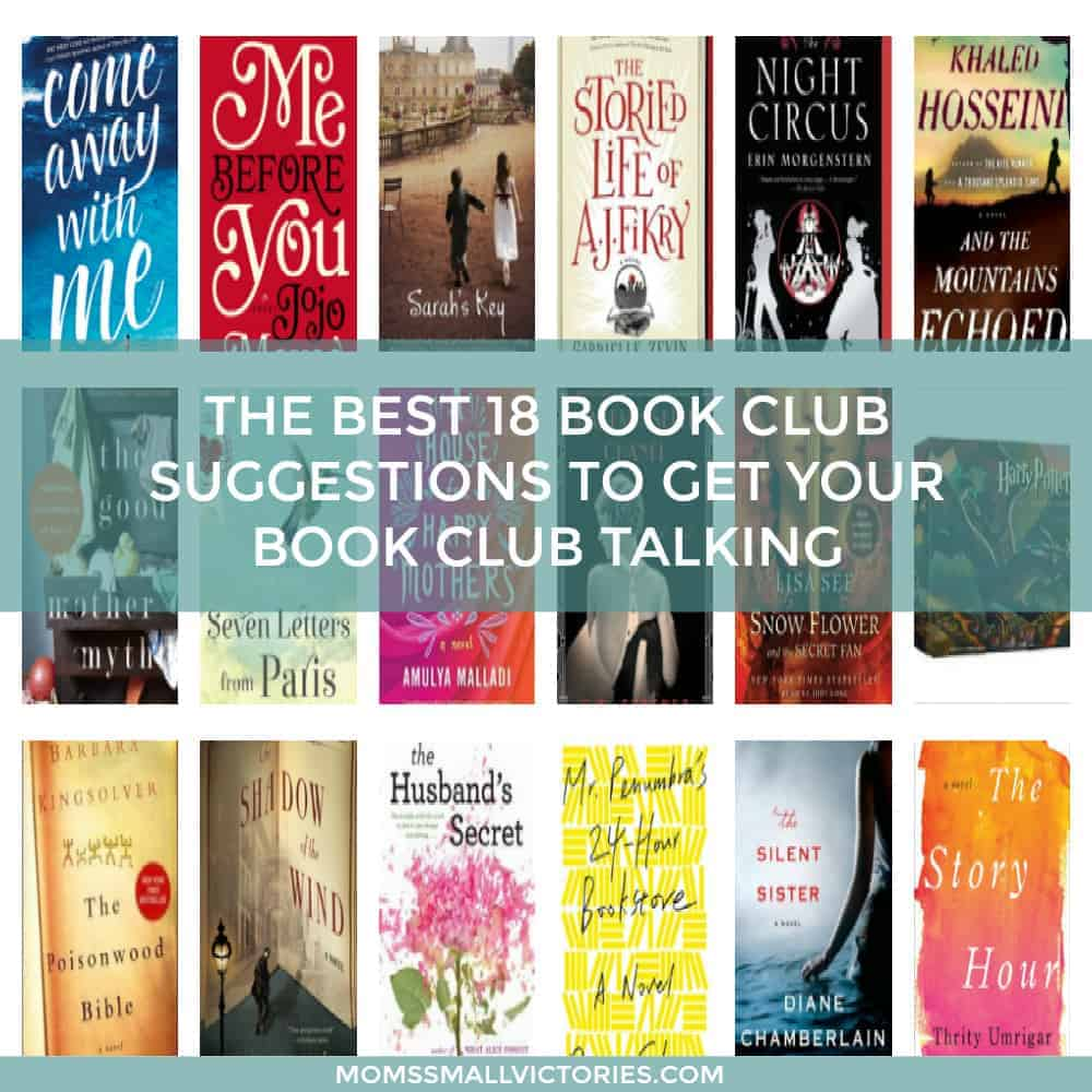 The 18 Best Book Club Suggestions to Get Your Book Club Talking