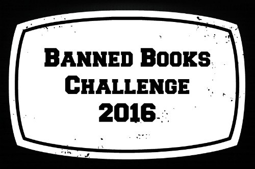 Banned Books Reading Challenge 2016 hosted by Buckling Bookshelves.
