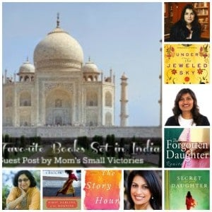 Indian Female Authors - Alison McQueen of Under the Jeweled Sky, Renita D'Silva of The Forgotten Daughter, Thrity Umrigar of First Darling of the Morning and The Story Hour and Shilpi Somaya Gowda of The Secret Daughter