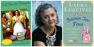 Laura Esquivel, Mexican Female Author of Like Water for Chocolate and Between Two Fires:  Intimate Writings on Life, Love, Food and Flavor