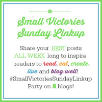 Small Victories Sunday Linkup {43}