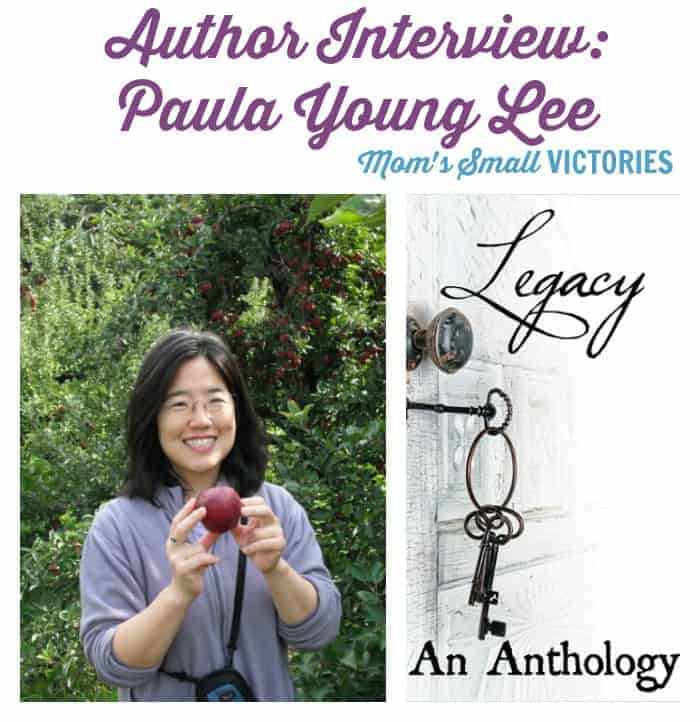 Legacy #30Authors Blog Tour: Author Interview with Paula Young Lee