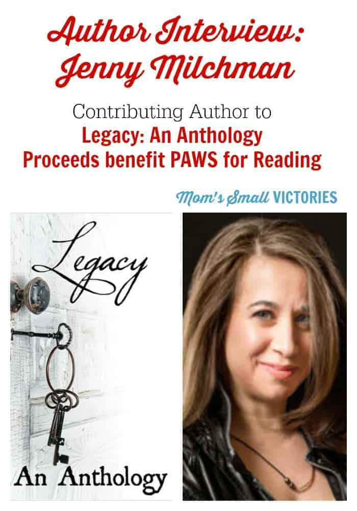 author interview with jenny milchman-legacy