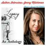"""For Legacy"""" An Anthology book tour, author Jenny Milchman shares what legacy means to her & a great story about the legacy she's left w/ a devoted reader."""