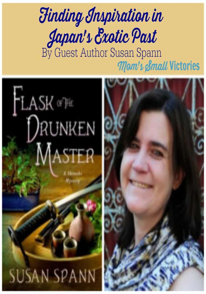 Finding Inspiration in Japans Exotic past by Guest Author Susan Spann.  An inside look on her research trip, the exotic setting and entertainment district that inspired the setting of her novel, Flask of the Drunken Master.