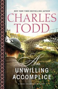 An Unwilling Accomplice by Charles Todd Review & printable discussion questions. An enjoyable and elegant mystery reminiscent of a Sherlock Holmes story. 3*