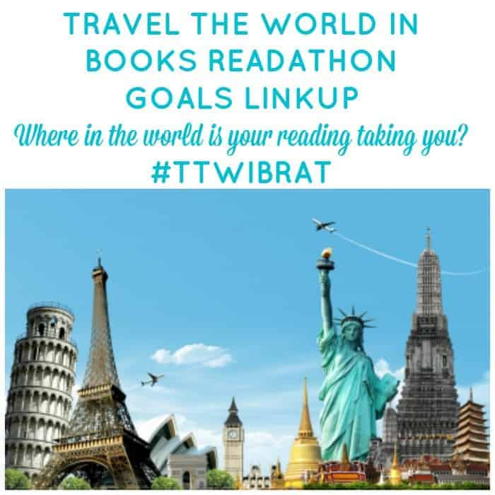 Travel the World in Books Readathon October 2015. Linkup your goals and tell us where in the world is your reading taking you? #TTWIBRAT