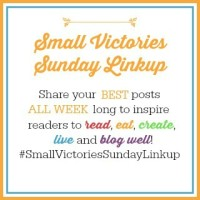 Small Victories Sunday Linkup {76}