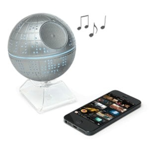 This Death Star Bluetooth Speaker is a must for the Star Wars fan and music lover in your life.