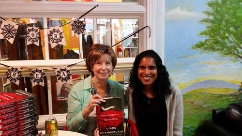 Me and Diane Chamberlain at the book signing for Pretending to Dance.