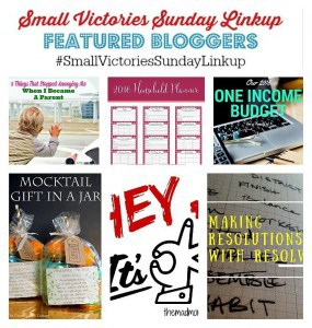 Small Victories Sunday Linkup Featured Bloggers 82