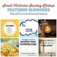 Small Victories Sunday Linkup {85}