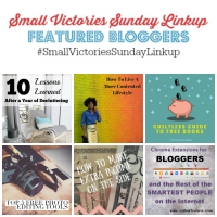 Small Victories Sunday Linkup {87}