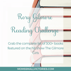 Rory Gilmore Reading Challenge includes the full list of books featured in the hit show The Gilmore Girls. Grab these ideas and add this wide variety of books to your reading list and read like a Gilmore!