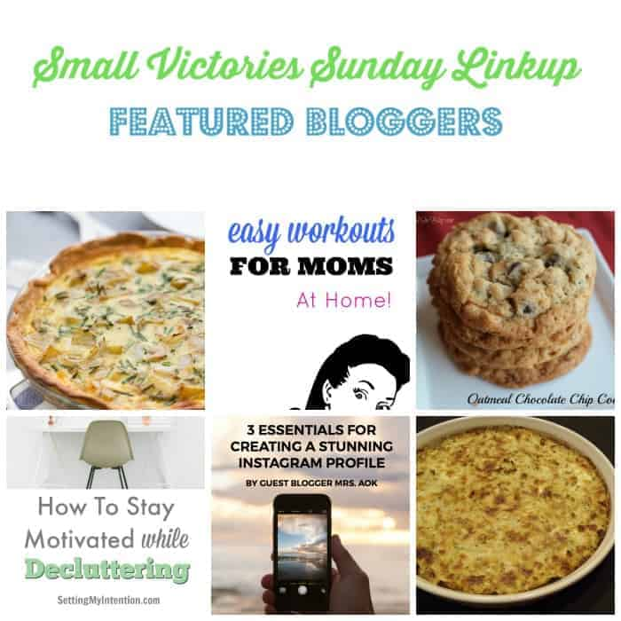 Small Victories Sunday Linkup {95}