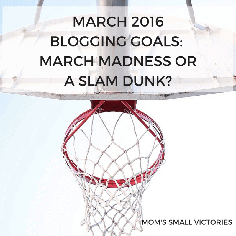February 2016 Recap & March 2016 Blogging Goals #linkup