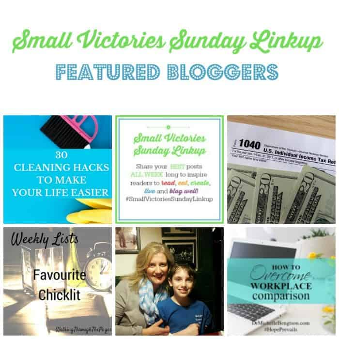 Small Victories Sunday Linkup {98}