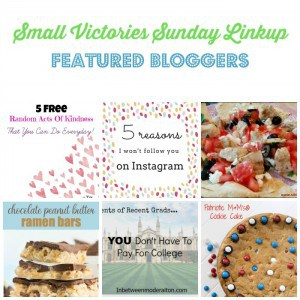 Small Victories Sunday Linkup {106}