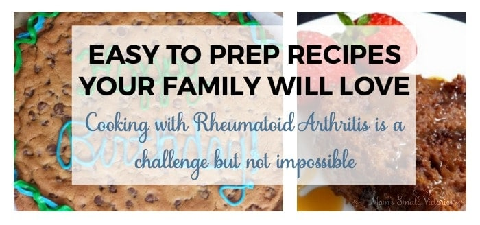 Easy to Prepare Recipes Your Family will Love. Cooking with Rheumatoid Arthritis is a challenge but not impossible. I modify recipes to make them easier to prepare so I can serve my family quality, healthy and clean meals.