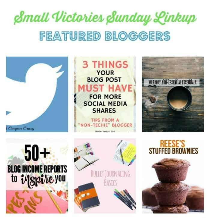 Small Victories Sunday Linkup {116}