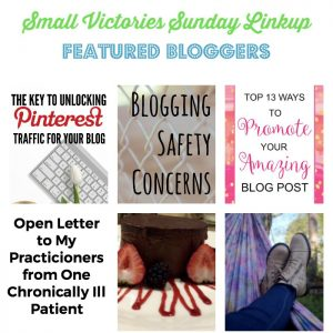 Small Victories Sunday Linkup {117}