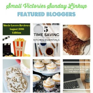 Small Victories Sunday Linkup {119}