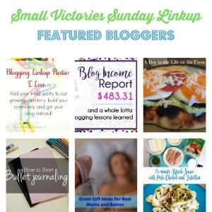 Small Victories Sunday Linkup {120}