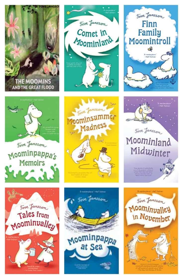 "Author of Forty Rooms, Olga Grushin recommends the Moomin series of children's books during 30Authors event. Olga says ""these stories celebrate the best things in life – family, friendship, openness to new things and new people, love of beauty and nature – and they do so with much subtle humor and effortless charm."""