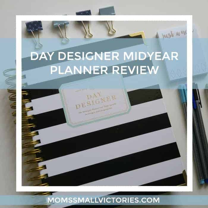 Day Designer Midyear Planner 2016-17 Review
