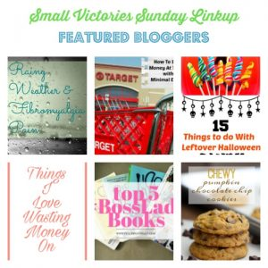 Small Victories Sunday Linkup {125}