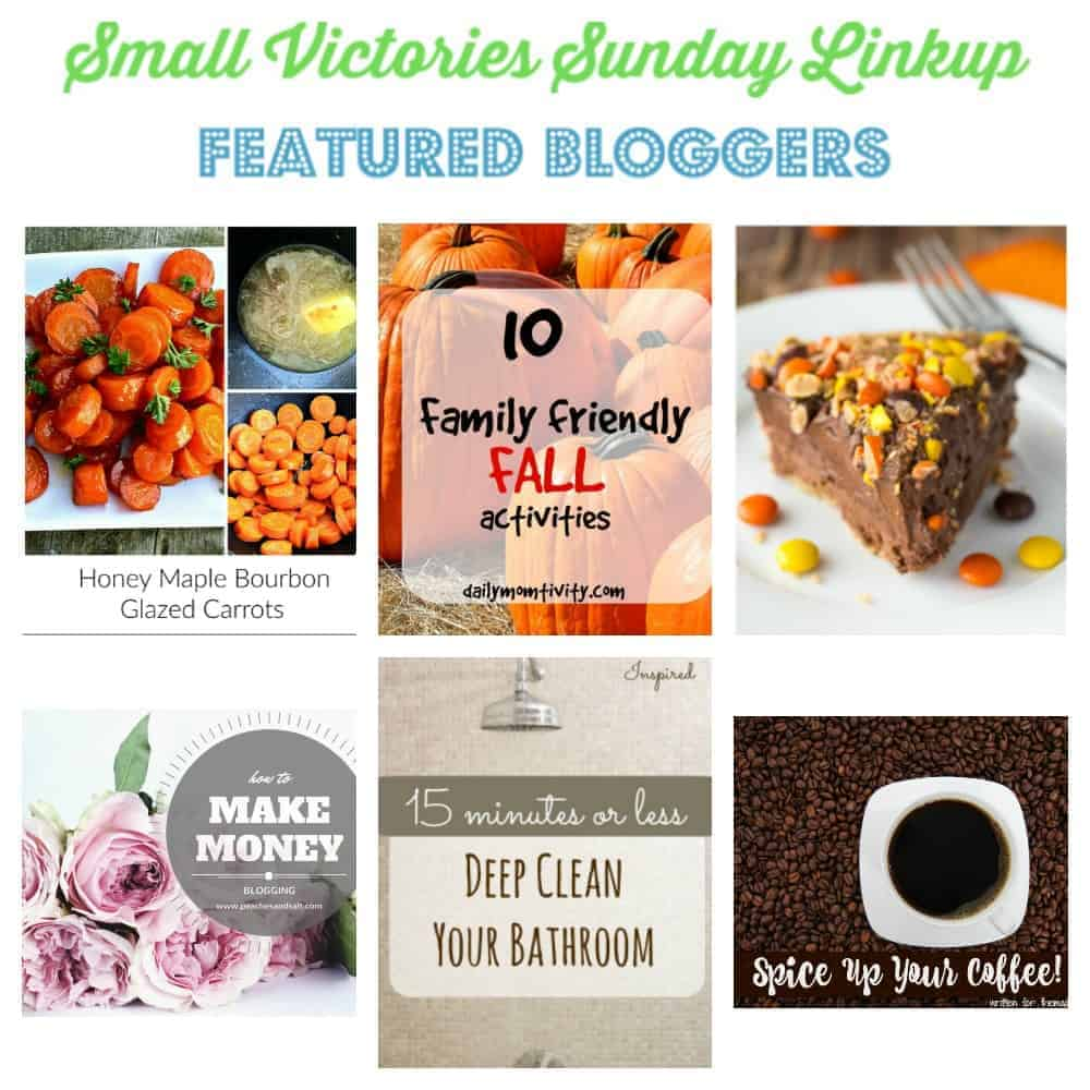 Small Victories Sunday Linkup {126}