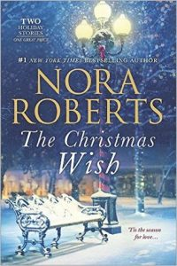 The Christmas Wish by Nora Roberts contains two Christmas romance stories about love, warmth and joy to celebrate the holiday and is one of the books on our Ultimate Winter Reading List.