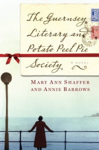 The Guernsey Literary and Potato Peel Pie Society set in Guernsey during WWII is a delightful read about an unlikely book club, the war and narrated in letters between the characters and is one of the books on our Ultimate Winter Reading List.