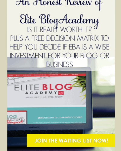 An Honest Review of Elite Blog Academy: Is it Really Worth It?