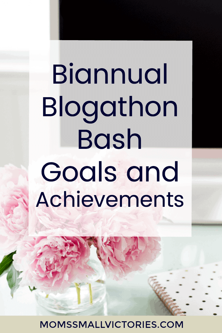 The Biannual Blogathon Bash is a free blogging marathon designed to challenge you to work on your blog and network with other fabulous bloggers. Check out the twitter party schedule, mini-challenges, prizes offered and my goals and achievements for this month's blogathon. If you're a blogger, join us, won't you?