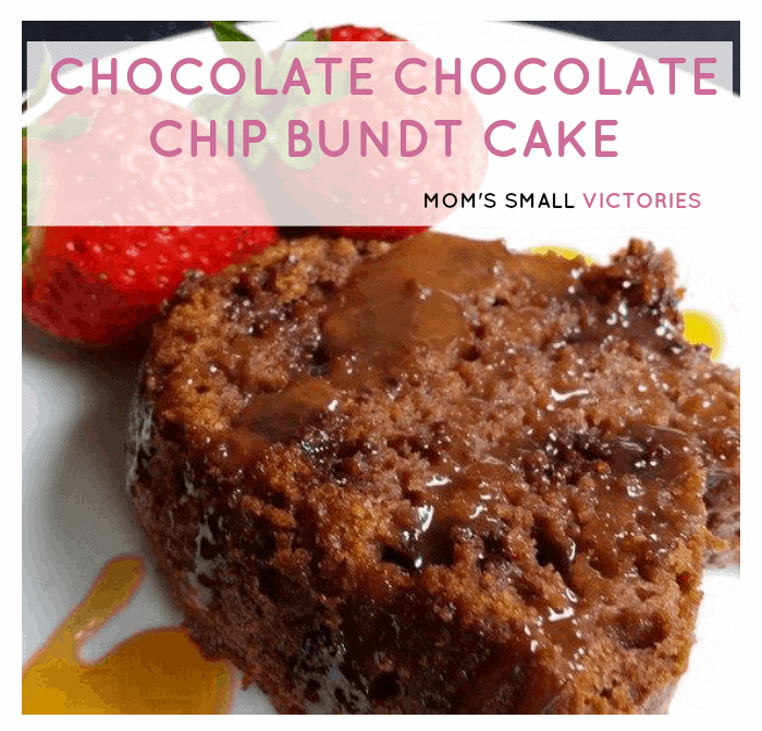 A simple, moist and delicious Chocolate Chocolate Chip Bundt Cake is the perfect dessert for chocolate lovers.