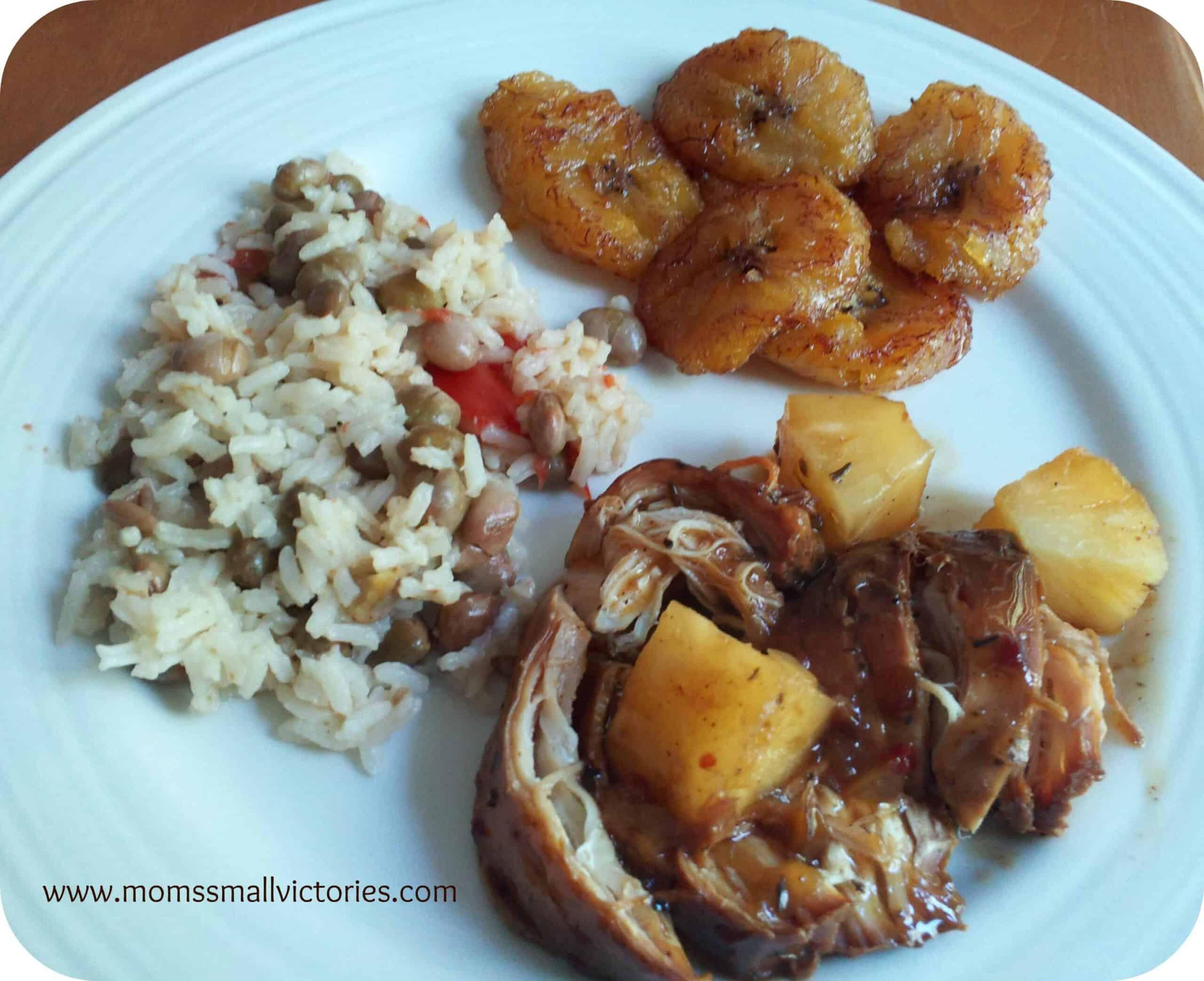 Recipe Review: Caribbean Jerk Chicken and Sweet Plantains (Platanos Maduros)