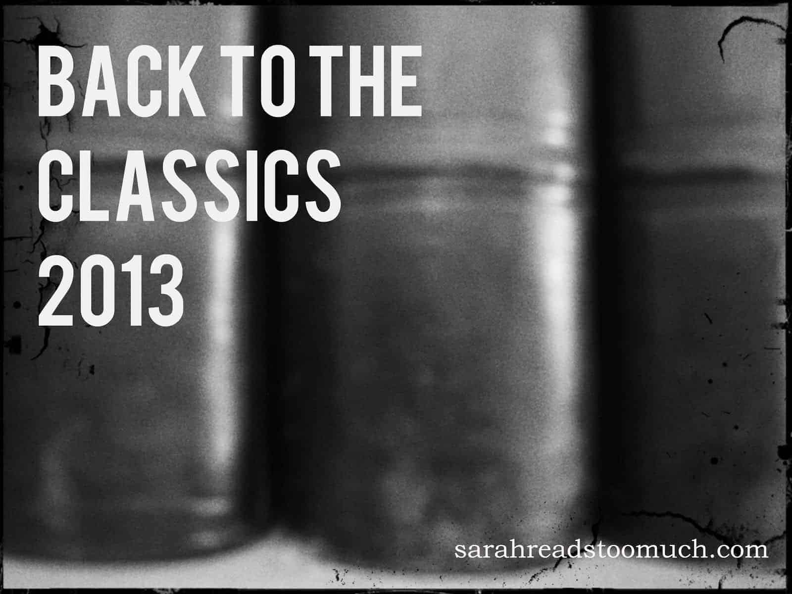 2013 Back to the Classics Reading Challenge