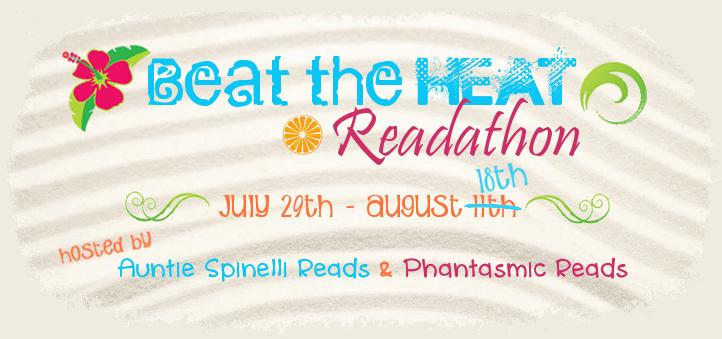 Beat the Heat Readathon July 29-August 18, 2013 Update