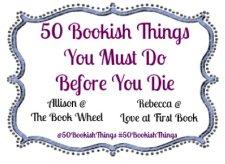 50 bookish things