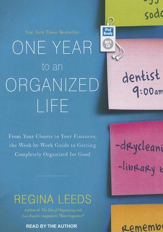 One Year to an Organized Life by Regina Leeds Audiobook Review