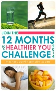 12 months to a healthier you